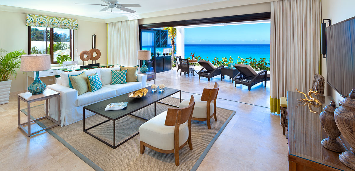 Beach House Suite Sand Dollar - Living Room