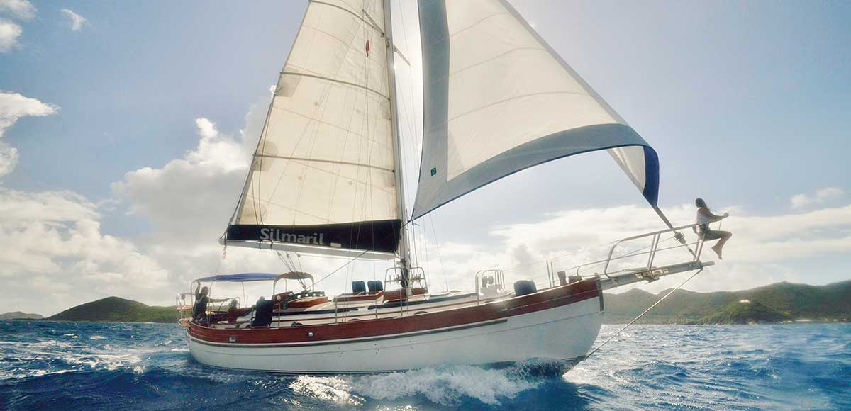 Sail The Blue Waters Of The BVI