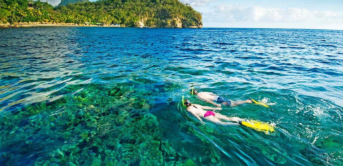 Anse Chastanet Snorkelling