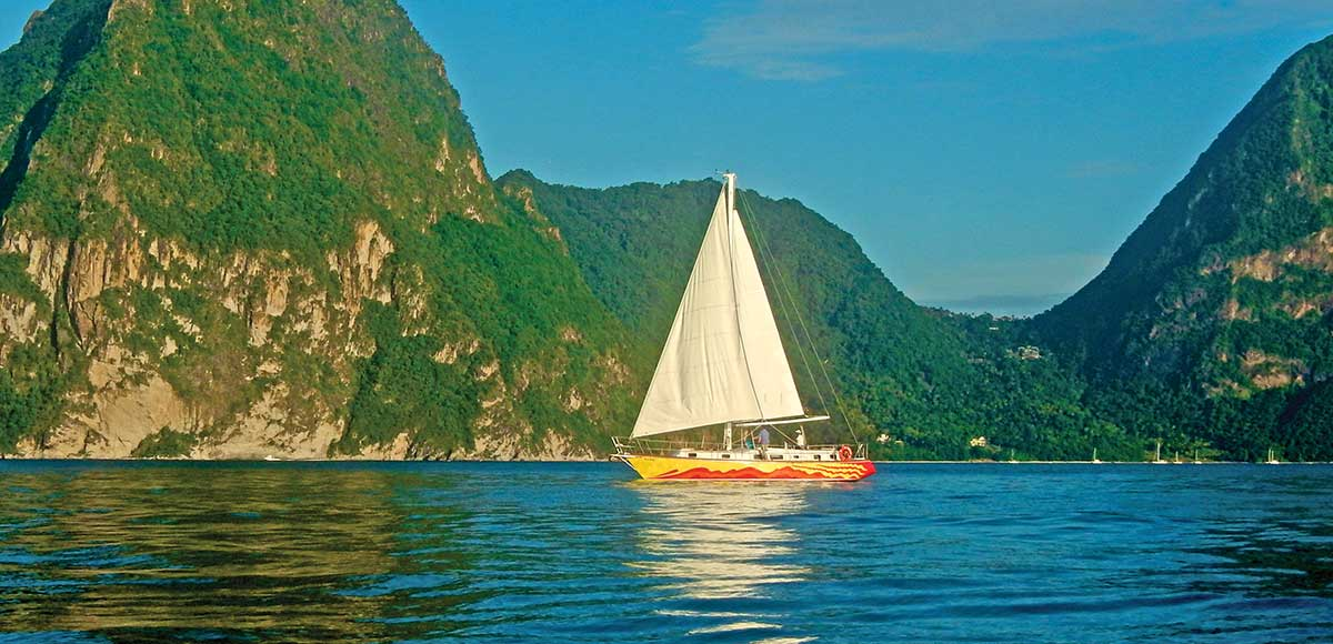 Anse Chastanet Sailing