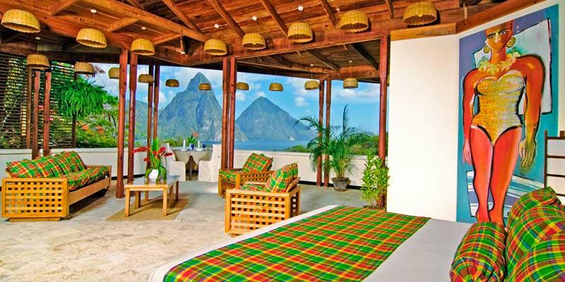 Premium Hillside Room at Anse Chastanet