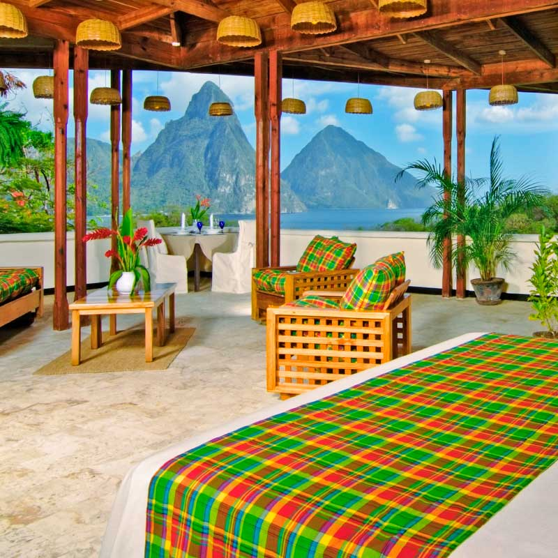 Premium Hillside Room at Anse Chastanet