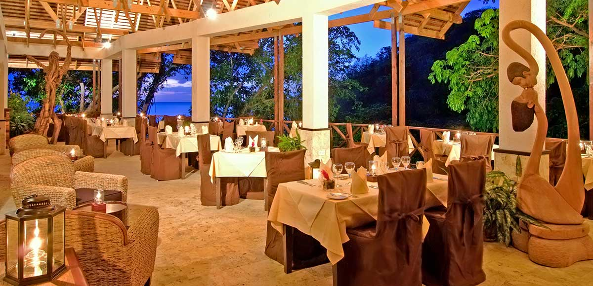 Treehouse Restaurant At Anse Chastanet