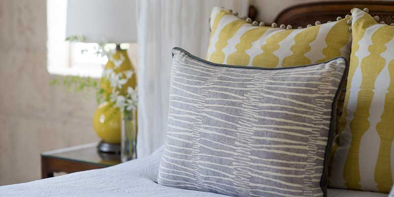 Luxury Plantation Suite Bed Detail