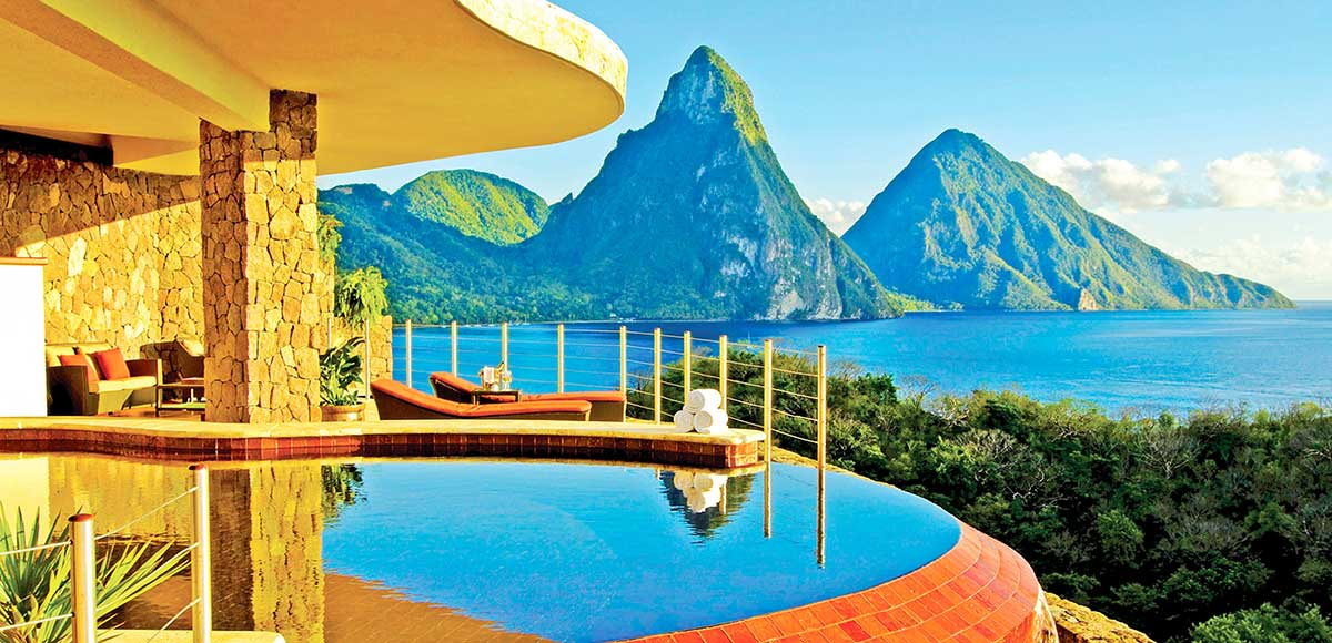 Sun Sanctuary At Jade Mountain