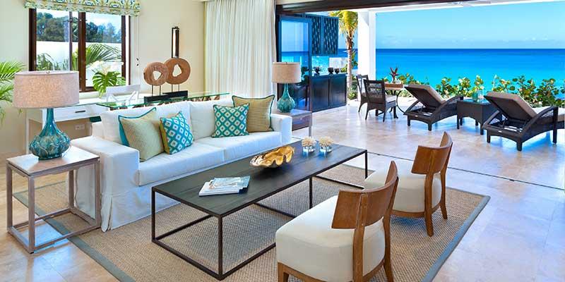Beach House Suite Sand Dollar - Living Room