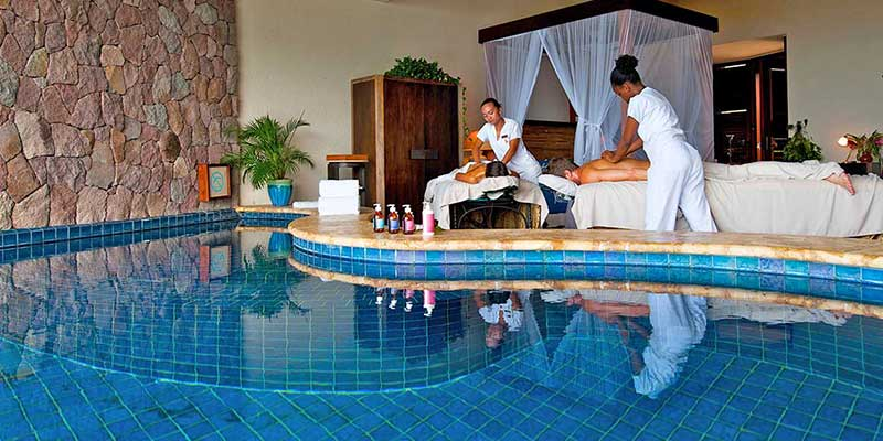 The Spa Comes To You