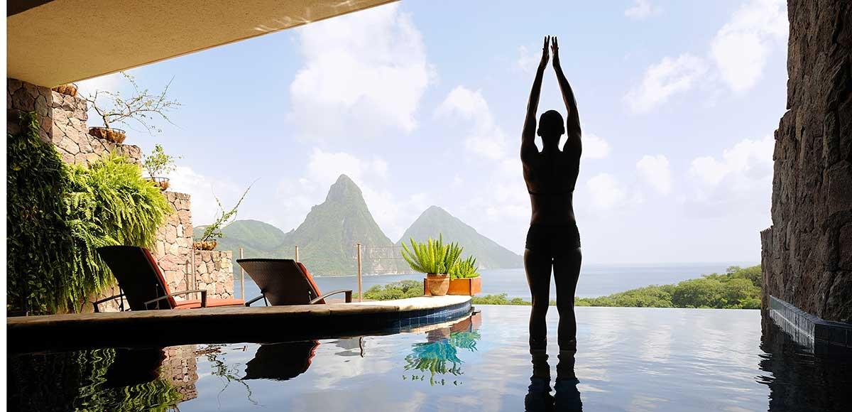 Yoga Jade Mountain style