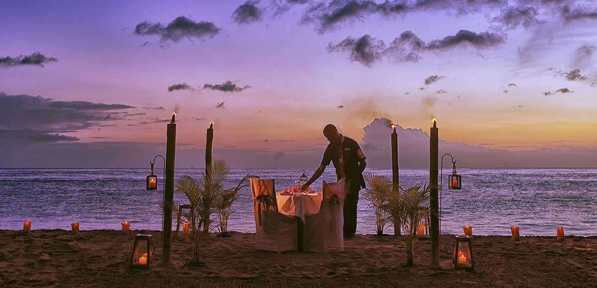 Private Dining Anse Chastanet Beach