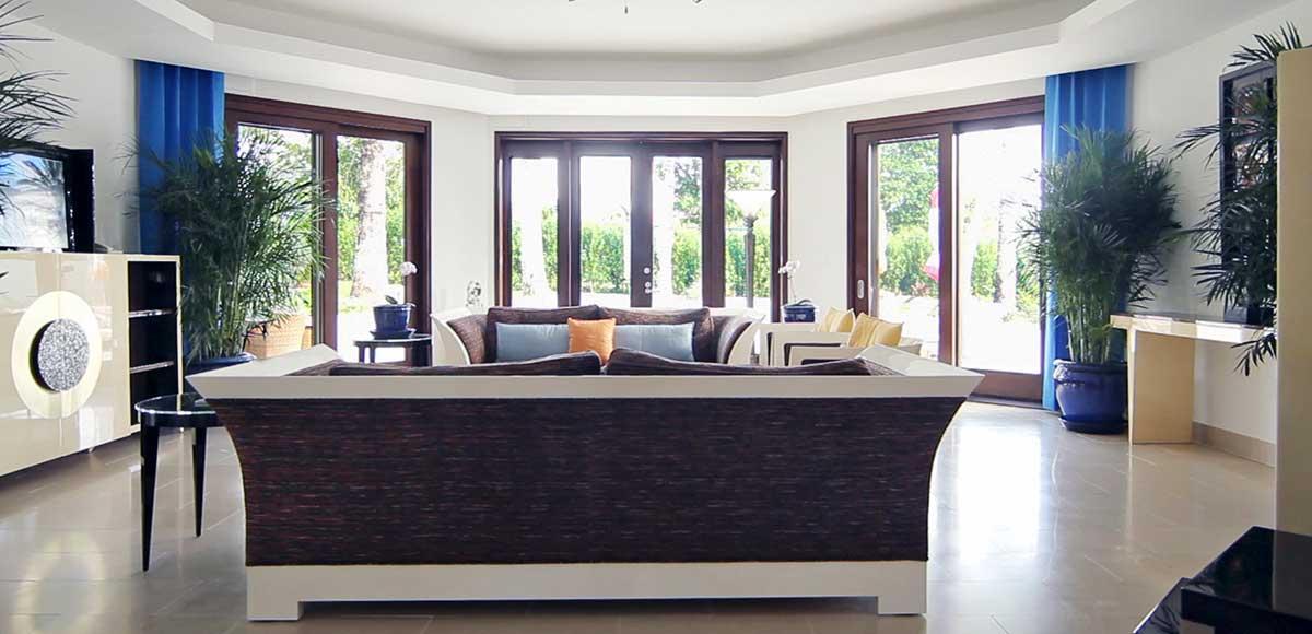 Oasis Garden Villa Living Room