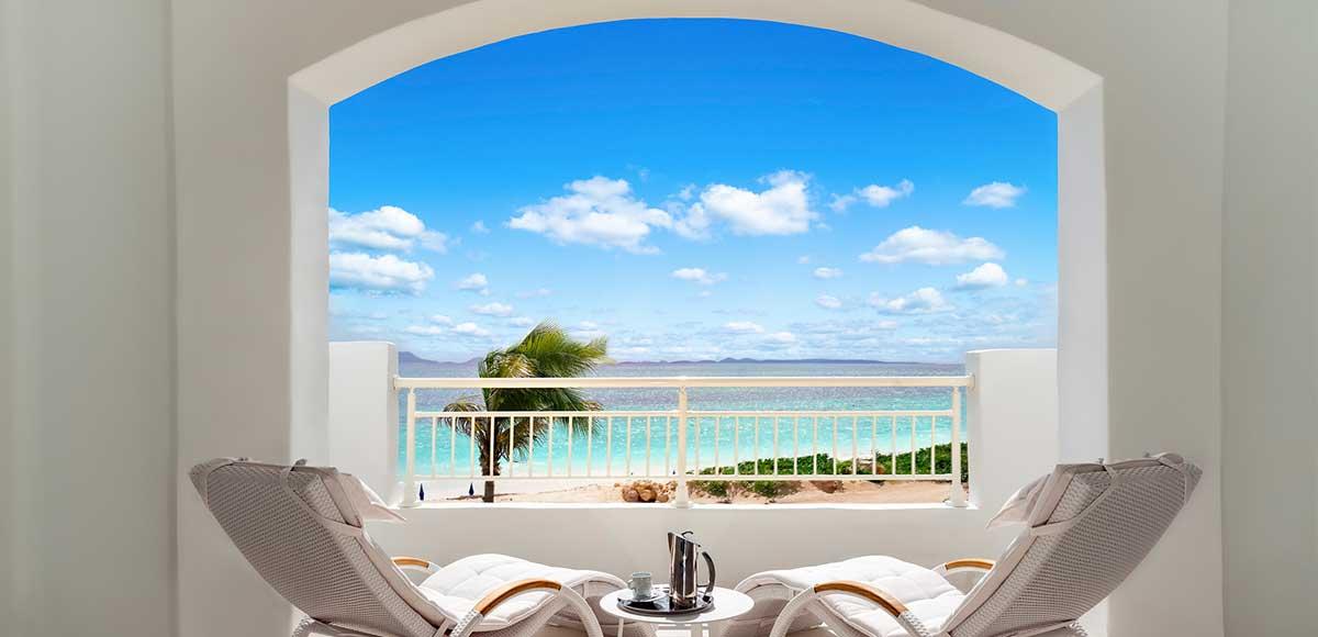 Beachfront Junior Suite Balcony