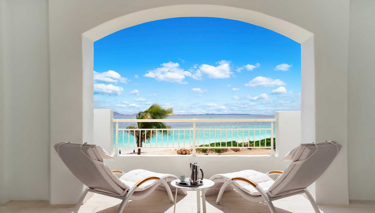 Beachfront Junior Suite Balcony