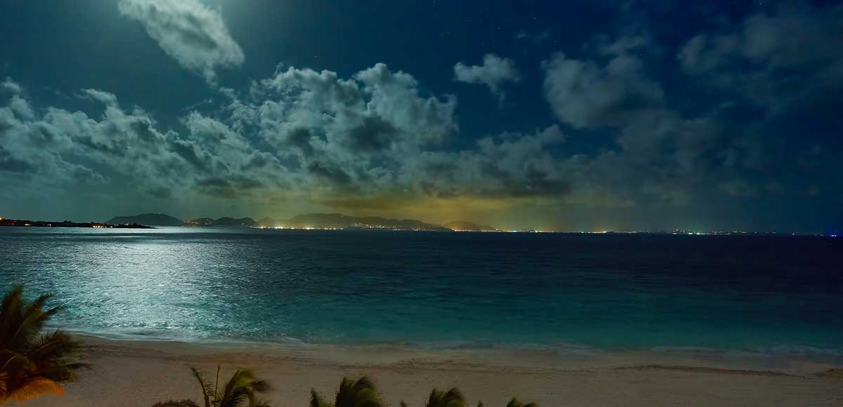Full Moon over Anguilla