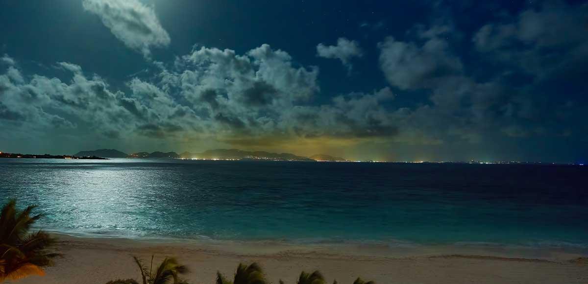 Full Moon over Anguilla